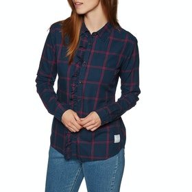 Protest Muscat Blouse Womens Shirt - Ground Blue