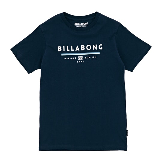 T-Shirt de Manga Curta Boys Billabong Unity