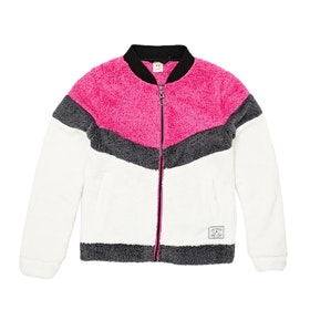 Polaire Enfant Protest Edda Jr Full Zip Top - Flora