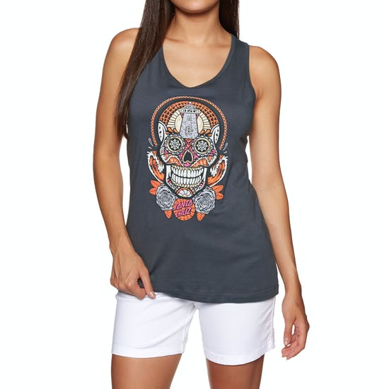 Santa Cruz Sugar Skull Ladies Camisole Vest