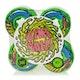 Santa Cruz Slime Balls Mini Vomits 97a 56mm Skateboard Wheel