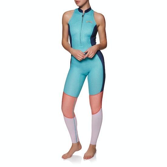 Billabong Salty Jane 2mm 2019 Front Zip Sleeveless Ladies Wetsuit