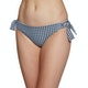 Seafolly Capri Check Loop Tie Side Hipster Bikiniunterteil