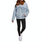 Levis Oversized Sherpa Trucker Killing Me So Ladies Jacket