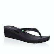 Sanuk Yoga Mat Wedge Ladies Sandals