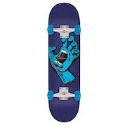 Santa Cruz Minimal Hand 7.8 Inch Complete Skateboard