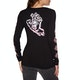 Santa Cruz Throwdown Hand Womens Long Sleeve T-Shirt