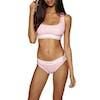Culotte Femme Calvin Klein Modern Cotton Rib Bikini - Nymph's Heather