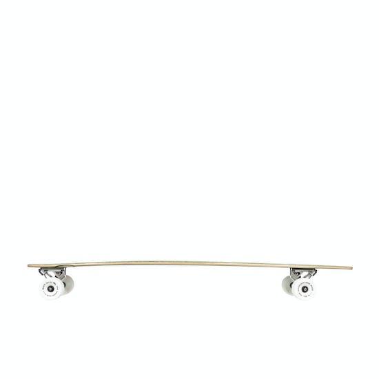 Quiksilver Pin Line Floral Longboard Skateboard
