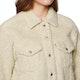 Levi's All Over Sherpa Trucker Cloud Cream Womens Jacket