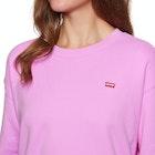 Levi's Oversized Crewneck Garment Dye Sportswe Ladies Sweater