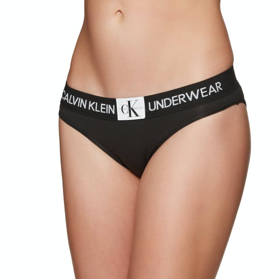 Calvin Klein Monogram Bikini Damen Schlüpfer