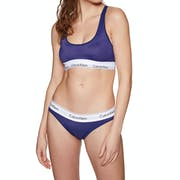 Soutien-gorge Femme Calvin Klein Mc Perforated Micro Unlined Bralette