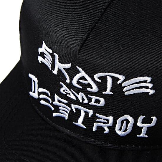 Thrasher Skate And Destroy Snapback Mütze