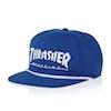 Thrasher Rope Snapback Cap - Blue/white