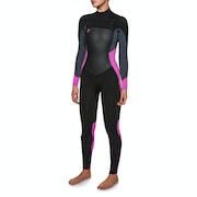 O'Neill Womens O'riginal 5/4mm Chest Zip Wetsuit