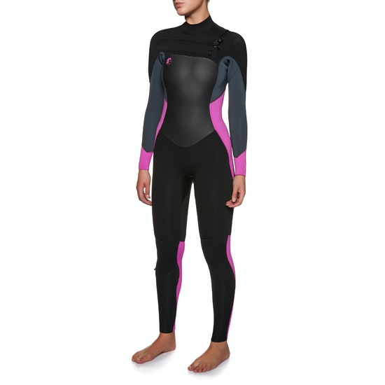 Combinaison de Surf O'Neill Womens O'riginal 4/3mm Front Zip