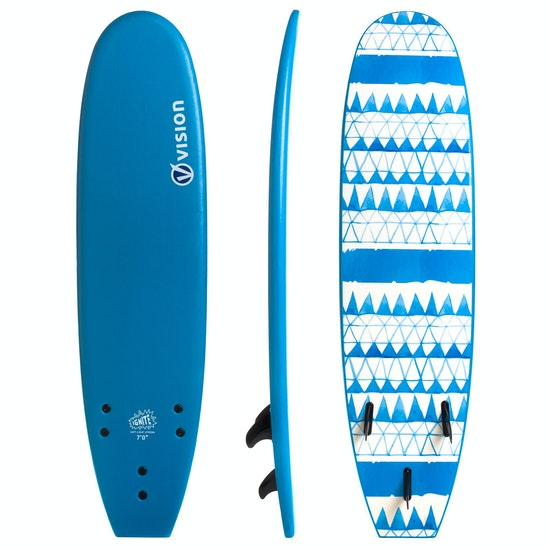 Vision Ignite Soft Deck & Slick Bottom Surfboard