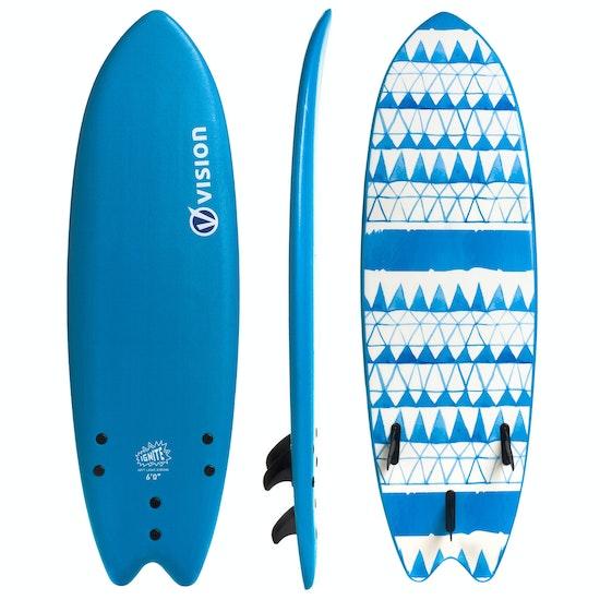 Vision Ignite Fish Soft Deck & Slick Bottom Surfboard