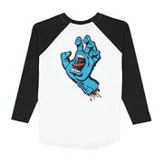 Santa Cruz Screaming Hand Baseball Kids Sweater