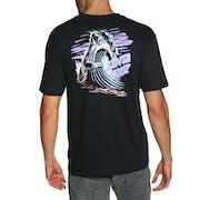 Santa Cruz Wave Hand Short Sleeve T-Shirt