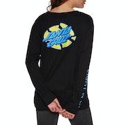 Santa Cruz Light'n Up Ladies Long Sleeve T-Shirt