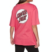 Santa Cruz Missing Dot Womens Short Sleeve T-Shirt