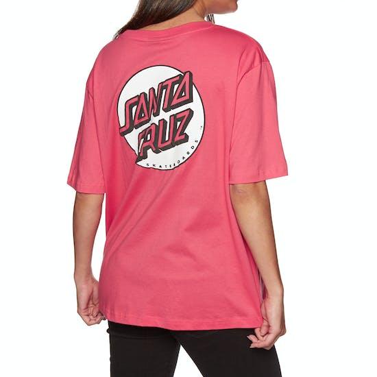 Santa Cruz Missing Dot Ladies Short Sleeve T-Shirt