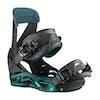 Snowboard Bindings Femme Salomon Mirage - Black/teal