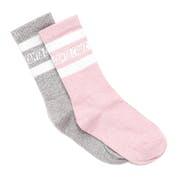 Santa Cruz Strip Logo (2 Pack) Ladies Socks