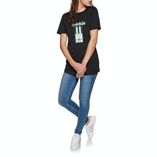 Adidas Originals Logo Womens Short Sleeve T-Shirt