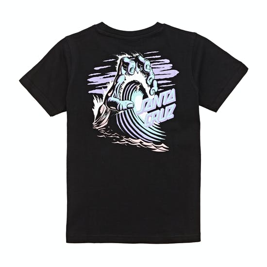 Santa Cruz Wave Hand Kids Short Sleeve T-Shirt