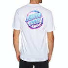 Santa Cruz Throw Down Dot Short Sleeve T-Shirt