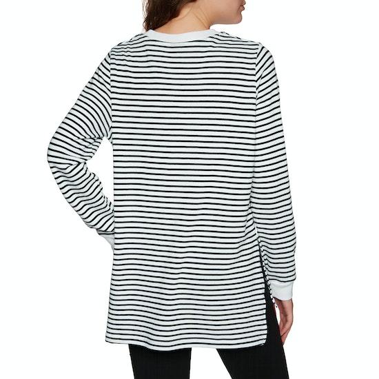 Santa Cruz Oval Dot Ladies Long Sleeve T-Shirt