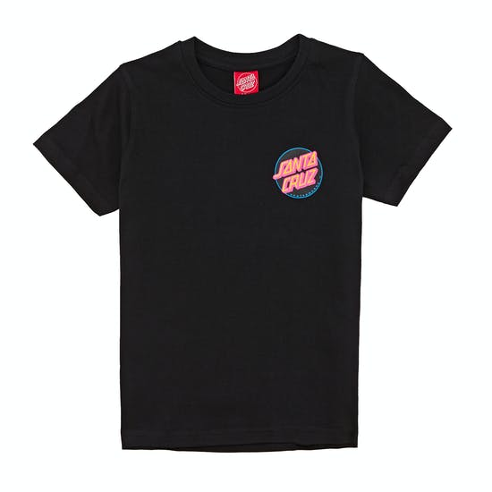 T-Shirt de Manga Curta Criança Santa Cruz Vivid Skull