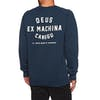 Maglione Deus Ex Machina Canggu Address Crew - Navy