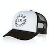 Gorro Deus Ex Machina Circle Logo Trucker - Black White