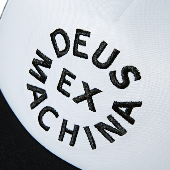 Deus Ex Machina Circle Logo Trucker Cap