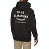Deus Ex Machina Camperdown Address Pullover Hoody - Black