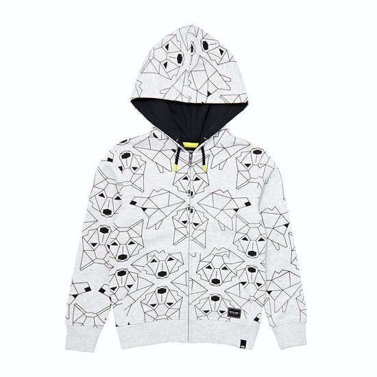 Animal Direwolf Boys Zip Hoody