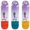 Welcome Magilda Mini - Nora Vasconcellos Pro 7.6 Inch Wicked Mini Skateboard Deck - Multicolour