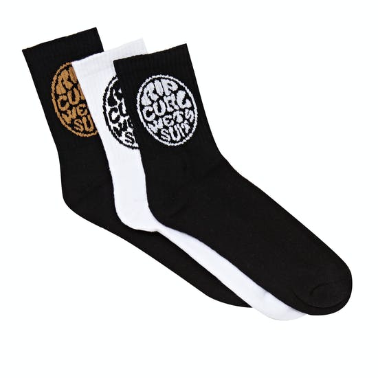 Rip Curl Wetties Crew 3p Socks