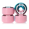 Welcome Apparitions Round 100a Splits 52mm Skateboard Wheel - Pink Blue