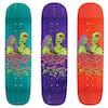 Welcome Zombie Love - 8.25 Inch Yung Nibiru Skateboard Deck - Multicolour