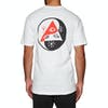 Welcome Balance Short Sleeve T-Shirt - White Black Red