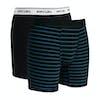 Rip Curl Solid & Stripy Boxer Shorts - Black