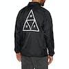 Huf Essentials Triple Triangle Coaches Jacket - Black