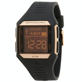 Rip Curl Maui Mini Tide Womens Watch - Black Rose Gold