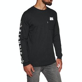 Rip N Dip Lord Nermal Pocket Long Sleeve T-Shirt - Black