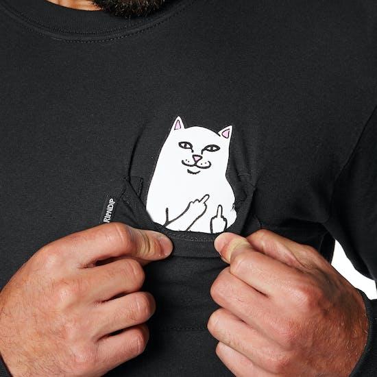 T-Shirt de Manga Comprida Rip N Dip Lord Nermal Pocket